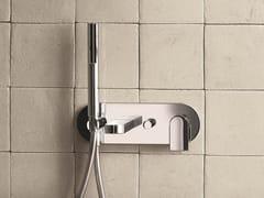 Miscelatore per vasca a muro con doccetta MARE | Miscelatore per vasca con piastra - Mare