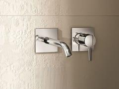 Miscelatore per lavabo a 2 fori a muro NOSTROMO - D013A/E411B - Nostromo