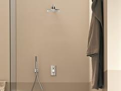 Miscelatore per doccia con doccetta con piastra NOSTROMO | Miscelatore per doccia con piastra - Nostromo