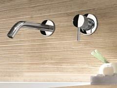 Miscelatore per lavabo a 2 fori a muro CAFÈ | Miscelatore per lavabo a muro - Cafè