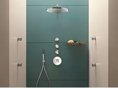 Rubinetto per doccia a 4 fori con doccetta RIVIERA | Rubinetto per doccia a 4 fori - Riviera