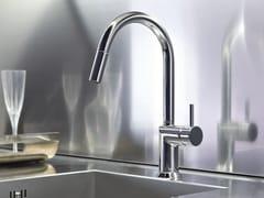 Miscelatore da cucina con bocca girevole con doccetta estraibile CAFÈ | Miscelatore da cucina con doccetta estraibile - Cafè
