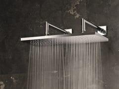 Soffione doccia a muro con 2 getti Soffione doccia con 2 getti -