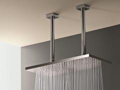 Soffione doccia a soffitto con 2 getti Soffione doccia con 2 getti -