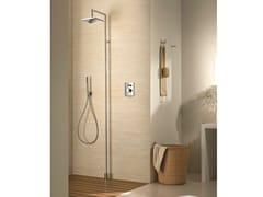 Colonna doccia da terra con doccetta con soffione Colonna doccia da terra -