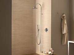 Colonna doccia a parete con doccetta con soffione Colonna doccia a parete -
