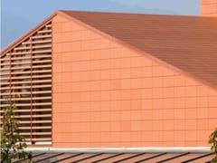 Sistema di involucro a secco ventilatoCOTTO³ - TERREAL ITALIA
