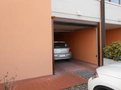 Portone da garage in acciaioCUPIS - BREDA SISTEMI INDUSTRIALI