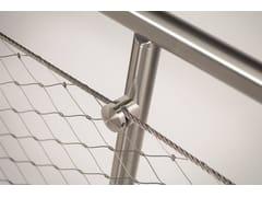 Parapetto in acciaio inoxQ-LINE ® EASY Q-WEB - Q-RAILING ITALIA