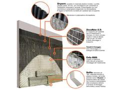 B&B Rivestimenti Naturali, DRYSYSTEM Sistema di posa per rivestimenti e pavimenti