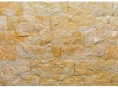 Rivestimento di facciata in pietra naturale GIALLO REALE TR | Rivestimento in pietra naturale - Pietra