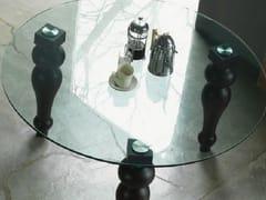 GIUNONE | Tavolo in cristallo