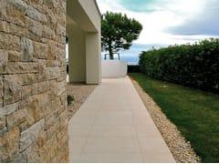 Pavimento per esterni in gres porcellanato effetto pietraCM2 | CREMA EUROPA - ARIOSTEA