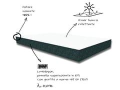 Sistema per isolamento a cappottoLAMBDAPOR UV ZERO - CABOX