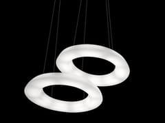 Lampada a sospensione a LED in polietilene CIRCULAR POL J | Lampada a sospensione a LED - Circular Pol