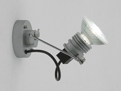 Faretto da parete orientabile in alluminio SISTEMA TRIK | Faretto da parete - Sistema Trik