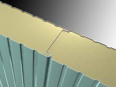 Pannello metallico coibentato per facciataALFA2 - ISOLPACK