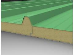 IsolPack, ECOLINE LITHOS 5 Pannello metallico coibentato per copertura