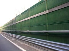 Barriera integrata antirumore e sicurezzaAKURAIL 3000 - SITAV COSTRUZIONI GENERALI