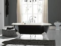 Vasca da bagno ovale in ghisa su piediVINTAGE | Vasca da bagno su piedi - BLEU PROVENCE