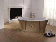 Vasca da bagno centro stanzaCHARME - BLEU PROVENCE