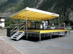 SELVOLINA, EASY Sistema modulare per palco e tribuna in metallo
