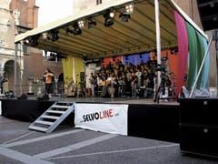 SELVOLINA, SPRINT Sistema modulare per palco e tribuna in metallo