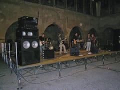 Sistema modulare per palco e tribuna in metalloDELUXE - SELVOLINA
