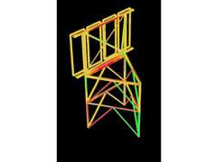 Calcolo struttura metallica Straus7 - TRALICCI E ANTENNE -