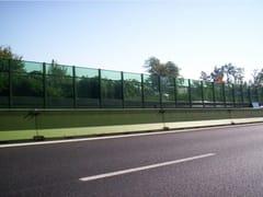 Barriera acustica stradaleAKUGLASS - SITAV COSTRUZIONI GENERALI