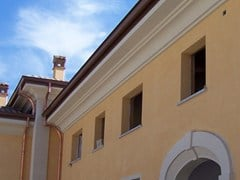 Cornice per facciata / Cornicione in cementoCEMENTI | Cornice per facciata - BACCARO I CEMENTISTI