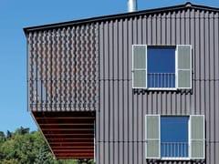 Pannelli per facciate in cemento fibrorinforzato ONDAPRESS - Swisspearl®