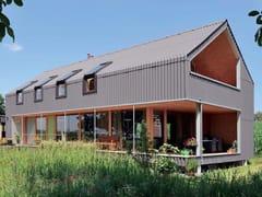 Pannello e lastra di copertura in cemento fibrorinforzato ONDAPRESS - Swisspearl® Roof