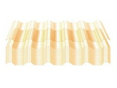 Lastra di copertura in vetroresinaLastra in vetroresina - UNIMETAL DI IDROCENTRO