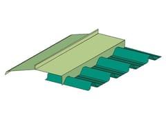 Colmo dentellato metallico per coperture GENUS | Colmo dentellato - Genus