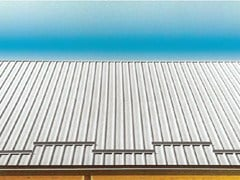 Lastra grecata in alluminio per coperture GENUS 800 - Genus