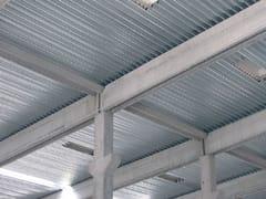 UNIMETAL, GENUS 160 POSITIVO Lastra ondulata in acciaio per coperture