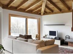 PROFILATI, EKU® WOODART TT AS Finestra a taglio termico alzante scorrevole in alluminio e legno