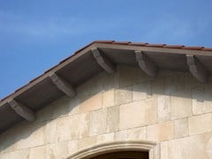 Cornice per facciata in calcestruzzoBarbacani - SAS ITALIA - ALDO LARCHER