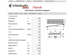 INTERSTUDIO, iTsol-all Calcolo solette in CA alleggerito