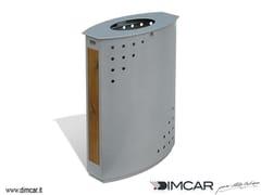 Portarifiuti in metallo per esterniCestone Heron - DIMCAR