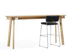 Tavolo alto rettangolare SIZE | Tavolo alto - Size
