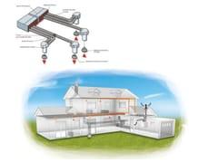 Impianto di ventilazione meccanica forzata Canalizzazioni distribuzione interna -