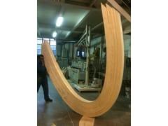 DDF, Legno lamellare curvo Travi in legno lamellare