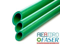 Tubi multistrato in PPR rinforzati con fibre specialiALFAIDRO FASER - PLASTICA ALFA