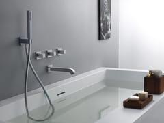 Set vasca a muro con doccetta QUADRI - Quadri