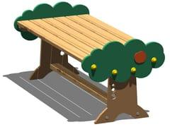 Tavolo per spazi pubblici in pinoARANCIA   Tavolo in pino - LEGNOLANDIA