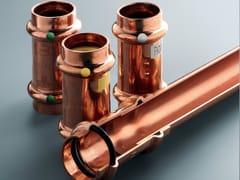 Raccordi in rame per impianto di riscaldamento e acqua caldaPROFIPRESS - VIEGA ITALIA