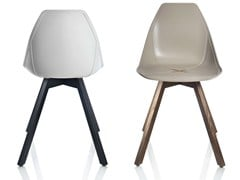 Sedia in polipropilene X WOOD - X Chair