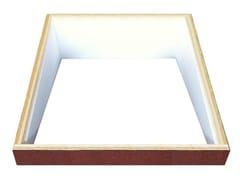 Basamento ed accessori per lucernarioRialzo per tetti piani - LUXIN